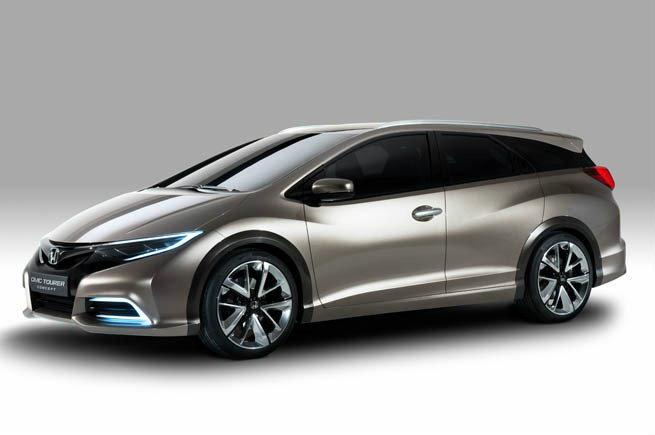 Honda Civic Tourer Concept   อีกเวอร์ชั่นคอมแพ็คคาร์ยอดนิยม