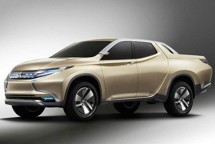 Mitsubishi GR-HEV Concept  คันนี้เลยว่าที่กระบะใหม่