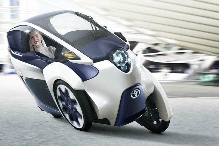 Toyota EV I Road  สามล้ออนาคต ตอบชีวิตคนเมือง