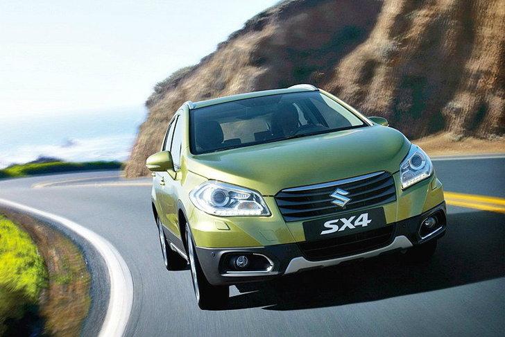 Suzuki SX 4  รุ่นใหม่มาแล้ว บนเวทีเจนีวา