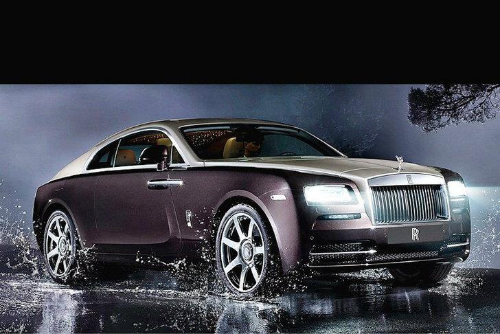Rolls -Royce Wraith คูเป้พันธุ์หรูกับตัวเลข   624  แรงม้า