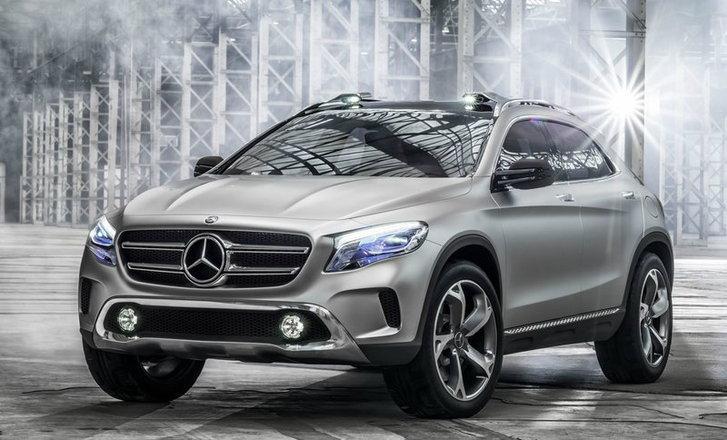 Mercedes Benz GLA Concept  อเนกประสงค์ตัวเล็กค่ายดาวสามแฉก