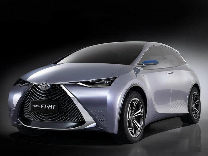 Toyota FT-HT  Yuejia ต้นแบบไฮบริดอีกครั้งจากโตโยต้า