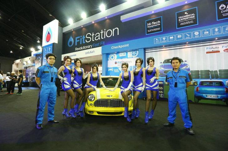 """ปตท. นำ PTT FitStation และนวัตกรรมใหม่ PTT FitStation Mobile Service ในงาน """"Auto Salon 2013"""""""