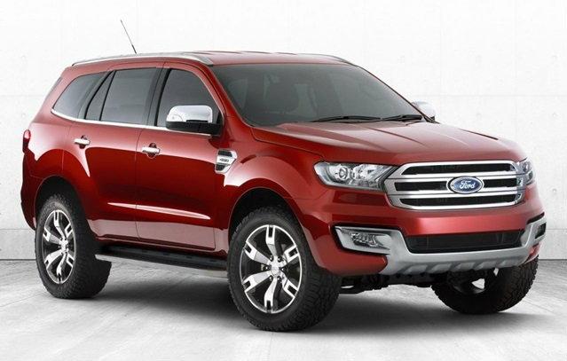 ว้าว! นี่หรือ Ford Everest 2015 ใหม่