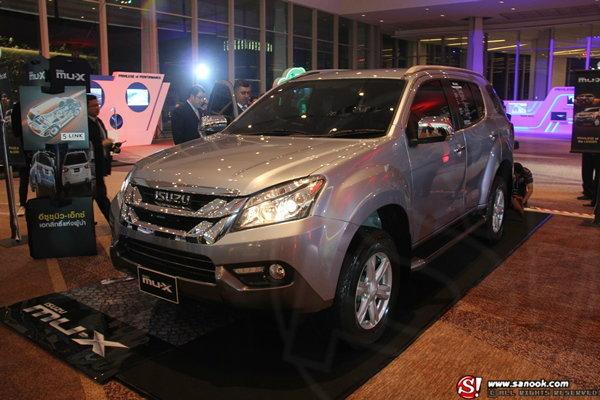 Isuzu MU-X 2014 ใหม่ เปิดตัวแล้วอย่างเป็นทางการครั้งแรกของโลกที่ประเทศไทย