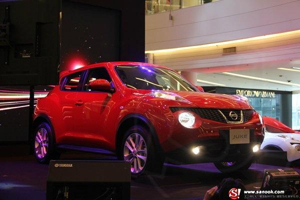 นิสสันเปิดตัว 'Nissan Juke' อย่างเป็นทางการในไทยแล้ว