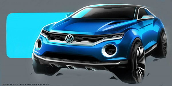 Volkswagen T-ROC ลุยตลาดครอสโอเวอร์เล็ก