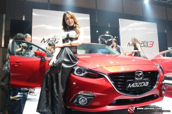 ชมภาพงานเปิดตัว Mazda 3 2014 SKYACTIV ใหม่ล่าสุด!