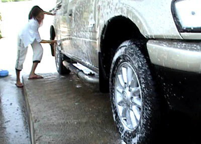 เทคนิคการล้างรถหลังสงกรานต์ 2557