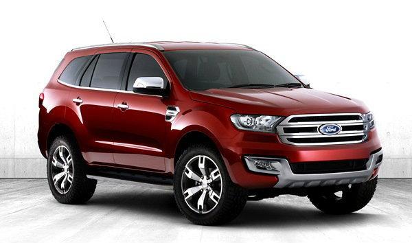 'Ford Everest 2015' อวดโฉมงามที่ประเทศจีน