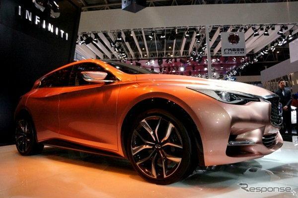 Infiniti Q30 คอมแพ็คระดับพรีเมี่ยมจาก 'Nissan'