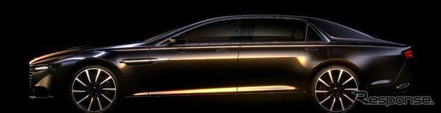 Aston Martin เผยโฉมซีดานหรู Lagonda เน้นลุยตลาดตะวันออกกลาง