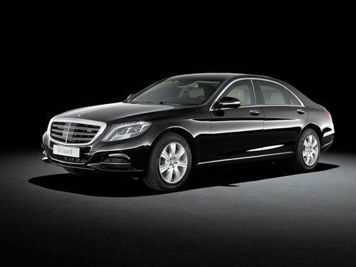 'Mercedes-Benz' เปิดตัว 'S600 Guard' รถเกราะหรูระดับผู้นำประเทศ