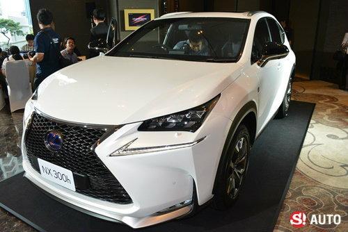 Lexus เปิดตัว NX300h ใหม่ล่าสุด เคาะราคาเริ่มต้นเพียง 2.79 ล้านบาท