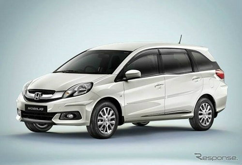 """Honda Mobilio 2014 (โมบิลิโอ) เตรียมฉกยอดขายเอ็มพีวี ลูกค้าเฮ! ราคาเบาๆ เฉียด """"แจ๊ซ"""""""