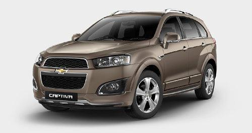 Chevrolet Captiva รถ SUV ใหม่ โดนใจ