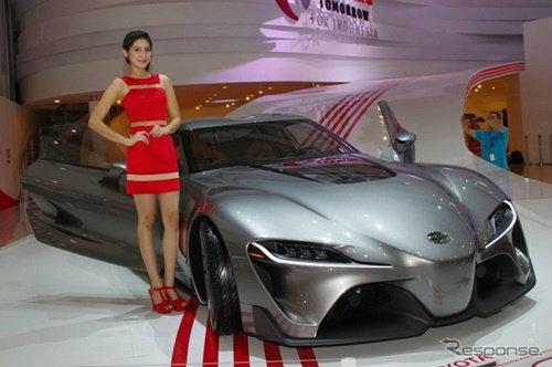 'Toyota FT-1 Concept' ออกโชว์ตัวที่อินโดนีเซีย
