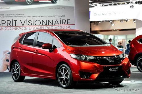 Honda Jazz 2014 เวอร์ชั่นยุโรปเผยโฉมแล้ว