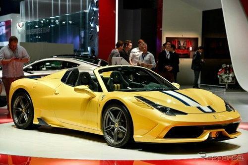'Ferrari 458 Speciale A' เปิดประทุนที่แรงที่สุดจากเฟอร์รารี่