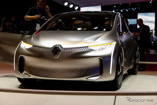 Renault เผยโฉม EOLAB ประหยัดสุดพลัง 100 กม./ลิตร
