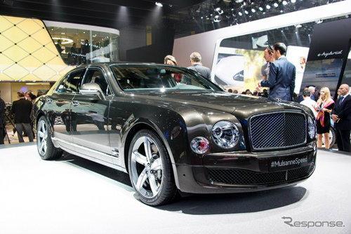Bentley Mulsanne Speed ถูกเปิดตัวล่าสุดในงานปารีสมอเตอร์โชว์
