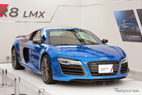 Audi R8 LMX  เผยโฉมที่ญี่ปุ่น จำกัดจำนวนเพียง 99 คันทั่วโลก