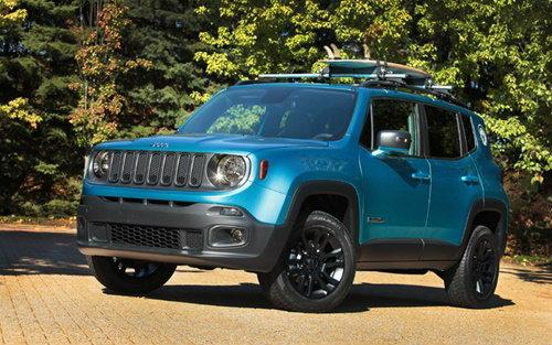 Jeep Renegade เวอร์ชั่นพิเศษใหม่ เปิดตัวในงาน SEMA 2014 ที่สหรัฐฯ