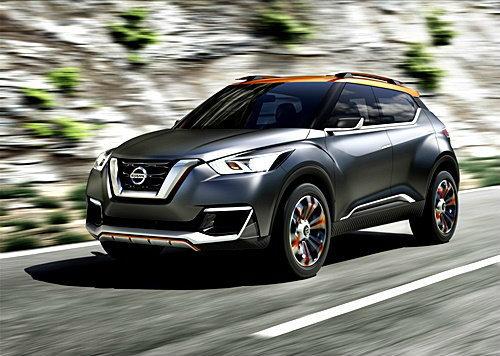 Nissan Kicks Concept เปิดตัวแล้วที่บราซิล