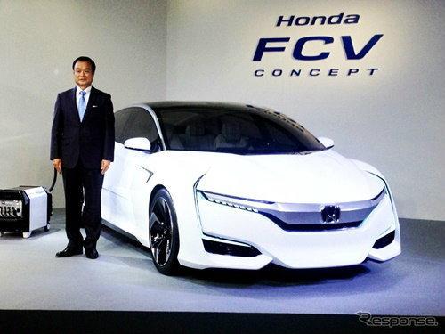 Honda FCV รถพลังงานฟิวเซลใหม่ เผยโฉมแล้วอย่างเป็นทางการ