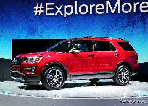 Ford Explorer 2016 ไมเนอร์เชนจ์ใหม่เผยโฉมแล้ว สวยล้ำกว่าเดิม