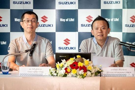 ยอดขาย 'ซูซูกิ' สวนกระแสโตขึ้นจากปีที่แล้ว เปิดตัวกรรมการผจก.ใหญ่ลุยตลาดปี 59