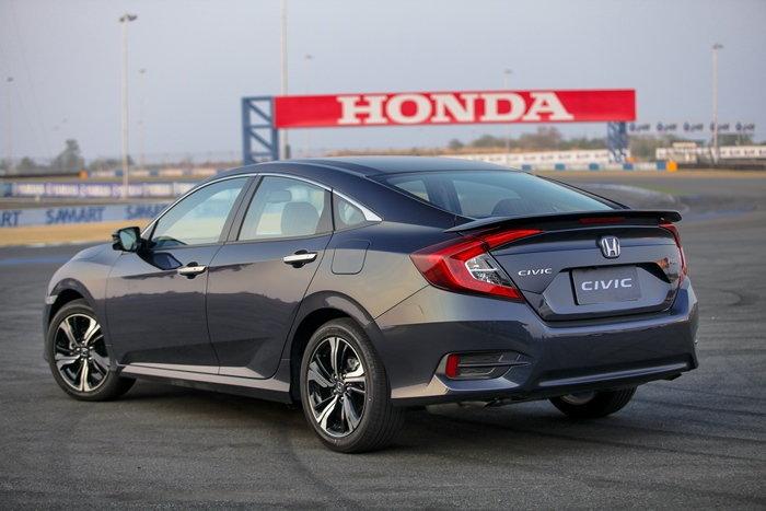 2016 Honda Civic โฉมใหม่ เคาะวันเปิดตัวพร้อมราคา 11 มี.ค.นี้