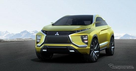 Mitsubishi eX Concept เตรียมเปิดตัวในงานเจนีวามอเตอร์โชว์ 2016