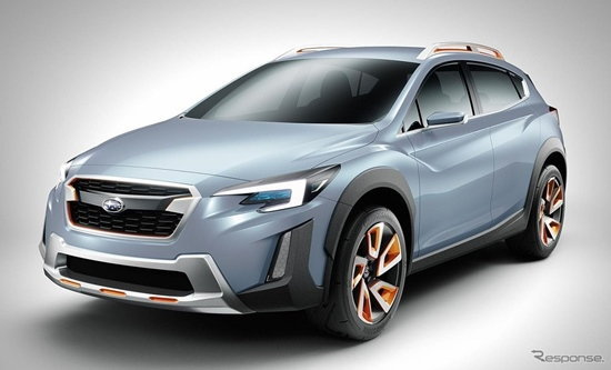 Subaru XV Concept เผยโฉมที่งานเจนีวามอเตอร์โชว์ 2016