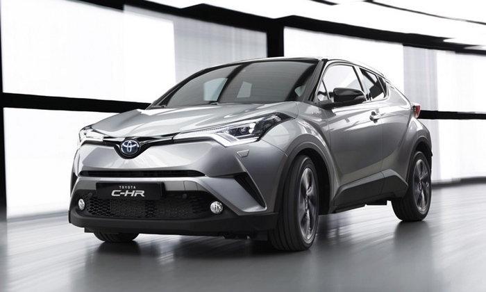 Toyota C-HR ครอสโอเวอร์รุ่นเล็กเผยโฉมแล้วที่เจนีวามอเตอร์โชว์ 2016