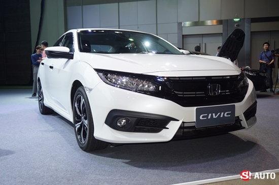 2016 Honda Civic โมเดลเชนจ์ใหม่ เปิดตัวในไทยอย่างเป็นทางการ เคาะเริ่ม 8.69 แสนบาท