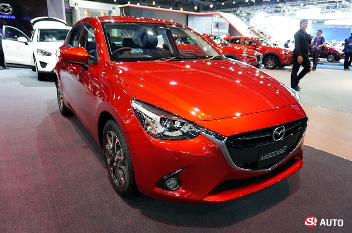'มาสด้า' โกยยอดจองมอเตอร์โชว์กว่า 3,500 คัน 'Mazda2' ขายดีสุด