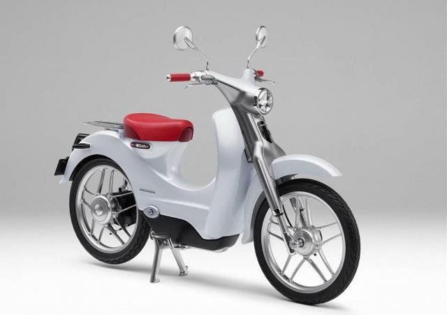 Honda EV-Cub Concept จักรยานยนต์พลังไฟฟ้าแห่งอนาคต