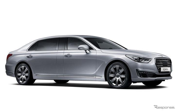 Hyundai เปิดตัว Genesis EQ900 Limousine ลีมูซีนหรูสัญชาติเกาหลี