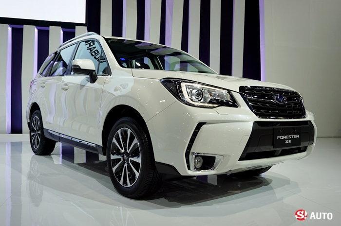 2016 Subaru Forester ใหม่ ประกาศหั่นราคา 2 แสนบาท เริ่มต้นเพียง 1.198 ล้านบาท