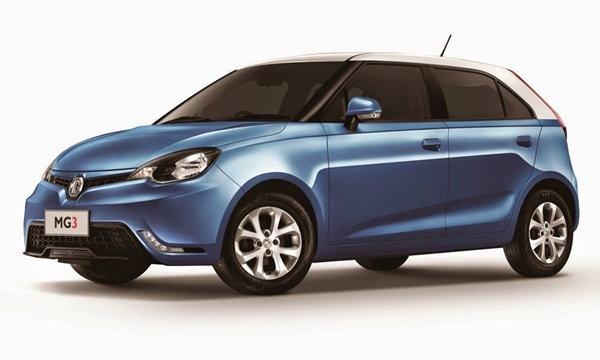 ราคารถใหม่ MG ในตลาดรถยนต์ประจำเดือนมีนาคม 2559