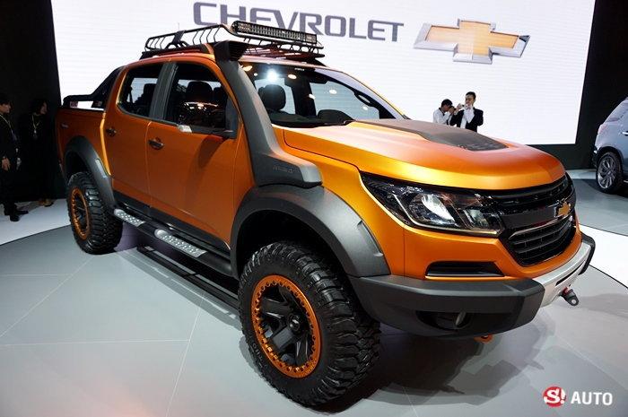 รถใหม่ Chevrolet ในงาน Motor Show 2016