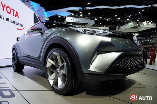 รถใหม่ Toyota ในงาน Motor Show 2016