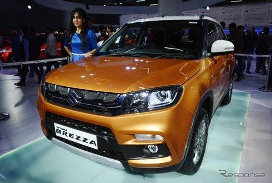 Suzuki Vitara Brezza ยอดขายทะลุ 20,000 คันแล้วในอินเดีย