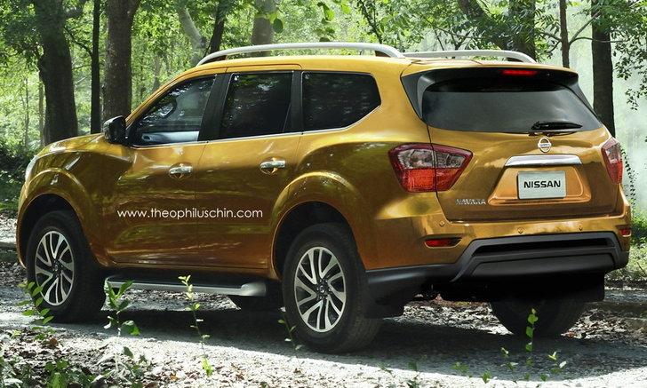 ภาพตัดต่อ 2017 Nissan Navara PPV สวยหรูไม่เบา
