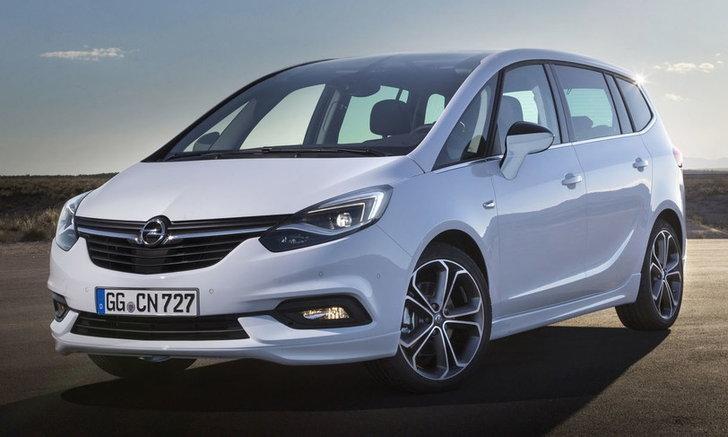 2017 Opel Zafira ไมเนอร์เชนจ์ใหม่เปิดตัวอย่างเป็นทางการแล้ว