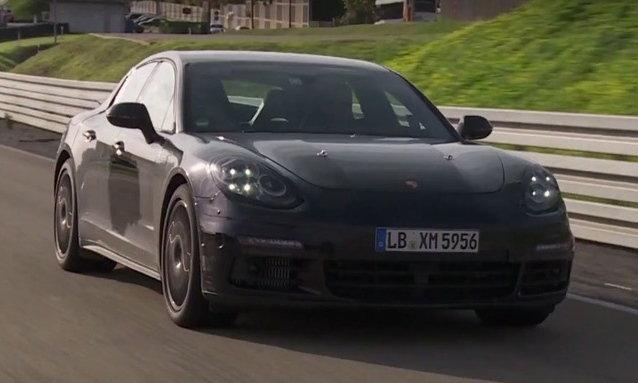 2017 Porsche Panamera เตรียมเปิดตัวครั้งแรกปลายเดือนมิ.ย.นี้