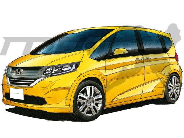 2017 Honda Freed โมเดลเชนจ์ใหม่เตรียมเปิดตัวเร็วๆนี้