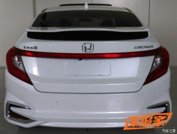 Honda City เวอร์ชั่นฟาสท์แบ็ค 5 ประตูใหม่โผล่ที่จีน
